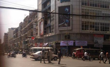 rue Monivong, Phnom Penh, Cambodge